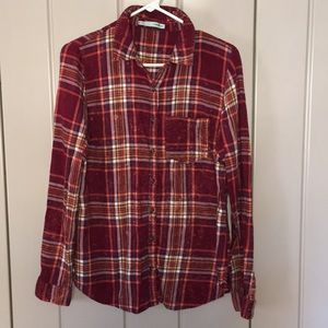 Perfect Fall Plaid Blouse